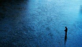 połów rzeka Fotografia Stock