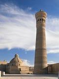Po-ι-Kalyan μιναρές, Μπουχάρα, Ουζμπεκιστάν Στοκ φωτογραφίες με δικαίωμα ελεύθερης χρήσης