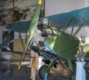Po-2 (μέχρι το 1944 - u-2) - ελαφρύ βομβαρδιστικό αεροπλάνο νύχτας (1927) max spee Στοκ Φωτογραφία