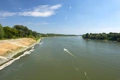 Po ποταμός Στοκ Εικόνες