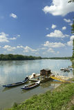 Po ποταμός Στοκ Φωτογραφίες