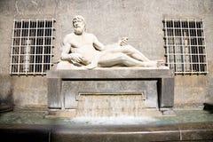 Po ποταμών άγαλμα, Τορίνο Στοκ φωτογραφίες με δικαίωμα ελεύθερης χρήσης