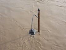 Po ποταμών πλημμύρα στο Τορίνο Στοκ φωτογραφίες με δικαίωμα ελεύθερης χρήσης