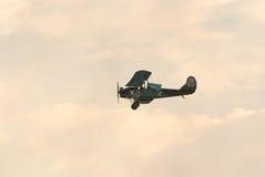 Po-2 biplane replica Royalty Free Stock Photos
