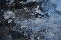 połamany lód Obraz Stock