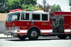 pożar silnika Zdjęcie Stock
