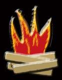 pożarnicza ilustracja ilustracja wektor