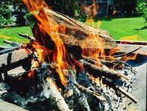 Pożarnicza jama Obrazy Royalty Free
