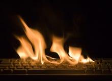 pożarnicza klawiatura Zdjęcia Royalty Free