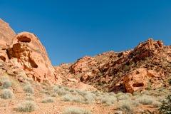 pożarnicza krajobrazowa dolina Zdjęcie Royalty Free