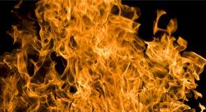 pożarnicza noc zdjęcia royalty free