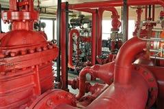 pożarnicza pompa Fotografia Stock