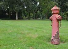 Pożarnicza pompa Obrazy Royalty Free