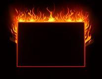 pożarnicza rama Zdjęcie Stock