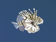pożarnicza ryba Obraz Stock