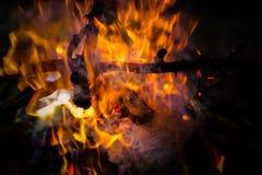 Pożarnicza tekstura Obrazy Stock