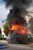 pożarnicza ulica Obraz Royalty Free