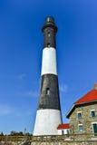 Pożarnicza wyspy latarnia morska Obrazy Royalty Free
