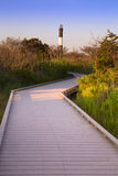 Pożarnicza wyspy latarnia morska Zdjęcie Stock