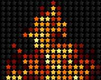 pożarnicze gwiazdy royalty ilustracja