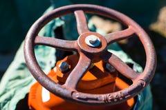 Pożarniczego hydranta Kontrolna klapa Obrazy Royalty Free