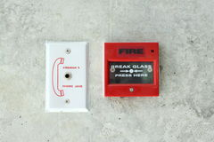 Pożarniczy Alarm Obrazy Stock