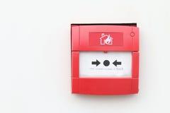 Pożarniczy alarm Zdjęcia Stock