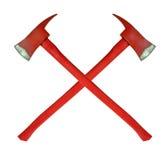 Pożarniczy ax Obraz Royalty Free