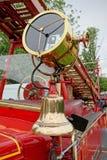 Pożarniczy Bell i reflektor Zdjęcie Royalty Free