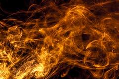 Pożarniczy dym Zdjęcie Royalty Free