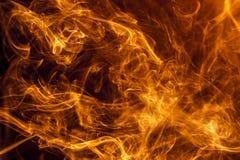 Pożarniczy dym Zdjęcie Stock