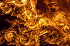 Pożarniczy dym Obraz Royalty Free