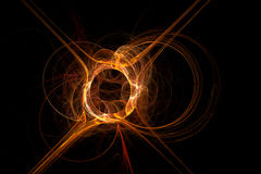 pożarniczy fractal Fotografia Royalty Free