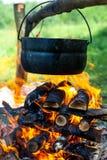 pożarniczy garnek Obraz Stock