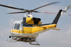 Pożarniczy helikopter Zdjęcie Royalty Free