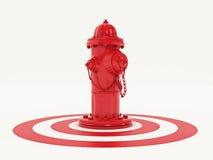 Pożarniczy Hidrant Obraz Royalty Free