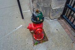 Pożarniczy hydrant, Montreal Zdjęcia Royalty Free