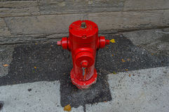 Pożarniczy hydrant, Montreal, Kanada Obraz Royalty Free