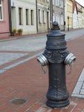 Pożarniczy hydrant, ulica, chodniczek, miasto Zdjęcie Royalty Free