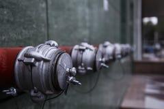 Pożarniczy hydranty Fotografia Stock