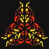 Pożarniczy Khokhloma Rodzimy ornament Obrazy Royalty Free