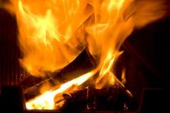 pożarniczy kominek Obrazy Royalty Free