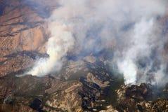 pożarniczy las Zdjęcie Royalty Free