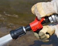 Pożarniczy nozzles Zdjęcie Stock