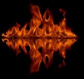 pożarniczy odbicie Obraz Stock