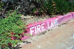 Pożarniczy pas ruchu Zdjęcia Stock