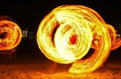 pożarniczy przedstawienie zdjęcia stock