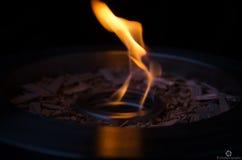 Pożarniczy puchar zdjęcia stock