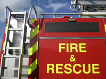 pożarniczy ratunek Obrazy Royalty Free