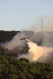 pożarniczy samolot obraz royalty free